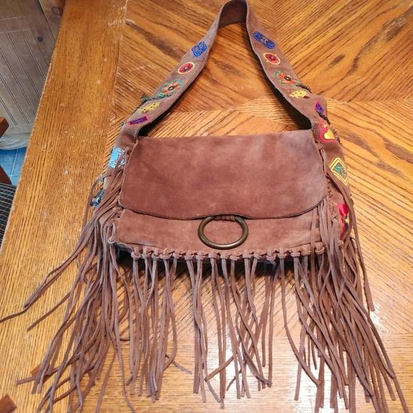 Vintage Francesco Biasa is Leather Bag